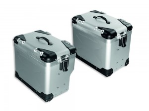 ALUMINIUM SIDE PANNIERS TOTAL 85L