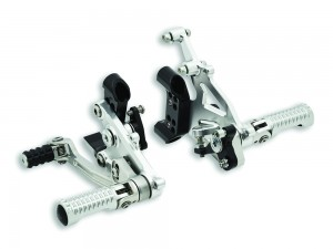 ADJUSTABLE ALUMINIUM RIDER FOOTPEGS