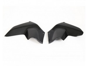 AIR DEFLECTORS PAIR CARBON