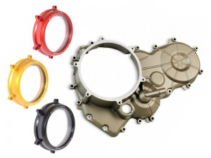 MAGNESIUM CLUTCH/TIMING COVER W/ CLEAR CLUTCH COVER